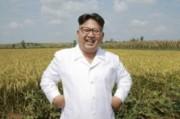 朝鮮人民軍傘下「第1116号農場」を現地指導した金正恩氏(2016年9月13日付労働新聞より)