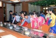 平壌寿司専門食堂(2016年9月6日付朝鮮中央通信より)