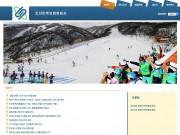 英国政府に閉鎖を命じられた朝鮮民族保険総会社のホームページ。