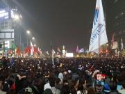 11月5日にソウルで行われた大規模デモ/徐台教