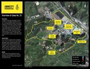 清津25号教化所の衛星写真(画像:アムネスティ・インターナショナル)