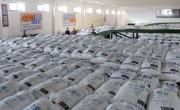 興南肥料工場で生産された化学肥料(画像:朝鮮の今日)