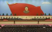 金正日総書記の生誕75周年慶祝中央報告大会(2017年2月16日付労働新聞より)
