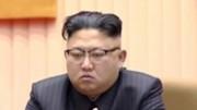 金正男氏殺害の直後、暗い表情を見せた金正恩氏(朝鮮中央テレビ)