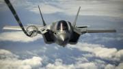 米海兵隊が装備するF-35Bステルス戦闘機(米海兵隊提供)