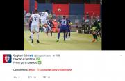 ハン・グァンソンのゴールを報じるカリアリの公式ツイッター