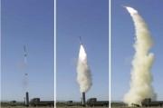 新型対空迎撃誘導武器システムの試験射撃を視察した金正恩氏(2017年5月28日付労働新聞より)