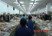 延吉の市場