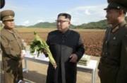 朝鮮人民軍傘下「第1116号農場」を現地指導した金正恩氏(2017年9月30日付労働新聞より)