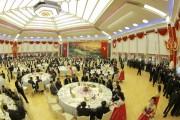 水爆実験の成功に寄与した核科学者、技術者のために開かれた宴会(2017年9月10日付労働新聞より)