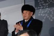 平昌五輪の閉幕式に出席した北朝鮮の金英哲氏(青瓦台提供)