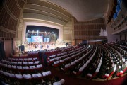 平壌で行われた三池淵管弦楽団の帰還公演(2018年2月17日付労働新聞)