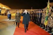 訪韓を終え平壌国際空港に到着した北朝鮮の高位級代表団(2018年2月12日付労働新聞)