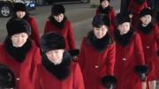 韓国で公演した北朝鮮芸術団のメンバーたち(朝鮮中央通信)