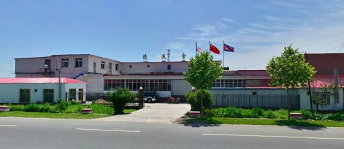 ニセの大同江ビールを製造している丹東の清流食品の工場(画像:騰訊地図)