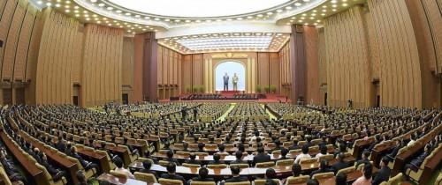 最高人民会議第13期第6回会議(2018年4月12日付労働新聞より)