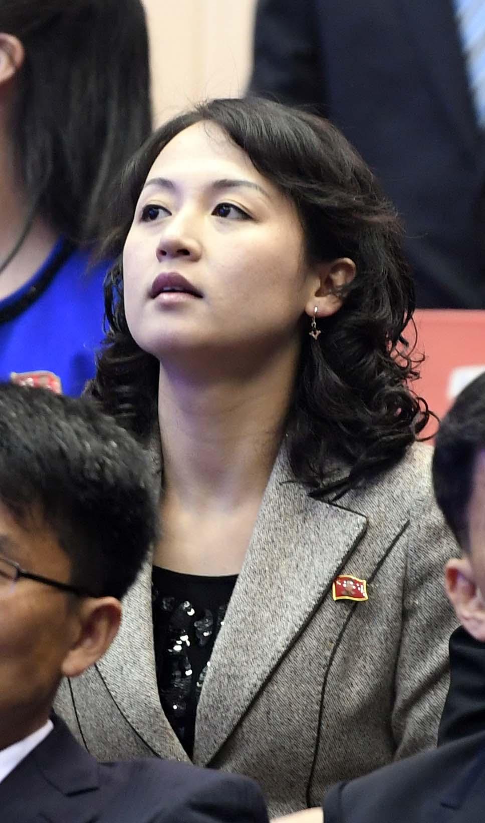 세련된 북한 여성 스타일