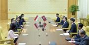 北朝鮮・シンガポール外相会談(2018年6月8日付労働新聞より)
