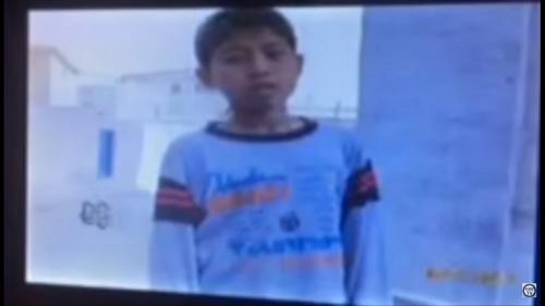 小学生までが容赦なく取り締まりの対象に(北朝鮮の幹部向け映像キャプチャ)