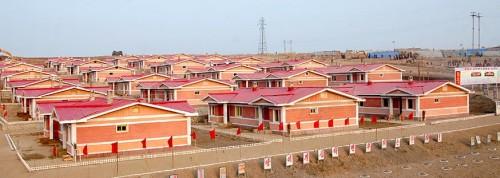 北朝鮮の現代式文化住宅(画像:わが民族同士)