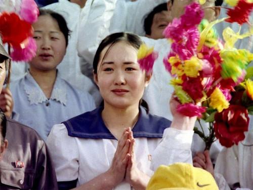 北朝鮮映画『ある女学生日記』の主演女優パク・ミヒャン