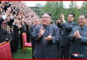 創立70周年を迎えた金策工業総合大学を訪問した金正恩氏(2018年9月29日付朝鮮中央通信)