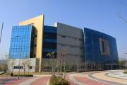 開城工業団地内にある南北共同連絡事務所の庁舎(韓国統一省提供)