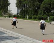 北朝鮮の少女たち(資料写真:デイリーNK)