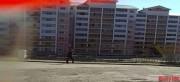 恵山市英興洞で入居が始まった新築マンション(画像:デイリーNK内部情報筋)