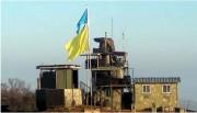 韓国国防省が4日に公開した非武装地帯(DMZ)の韓国側の監視所に掲げられた黄色い旗(韓国国防省提供)