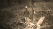 日本軍に虐殺された朝鮮人従軍慰安婦とされる映像のキャプチャー(死体のように見える部分はカットしてある)
