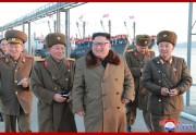 朝鮮人民軍傘下の水産事業所を視察した金正恩氏(2018年12月1日付朝鮮中央通信)