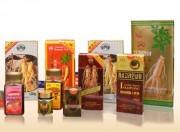 朝鮮人参を原料とする北朝鮮の商品類(北朝鮮の宣伝サイト「ネナラ」より)