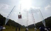 自由北韓運動連合が2016年9月15日に行った対北朝鮮ビラの散布(ニューシスKOREA)