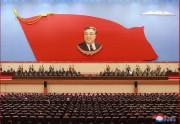 8日に行われた「金日成主席の逝去25周忌中央追悼大会」(2019年7月8日付朝鮮中央通信)