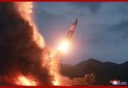 北朝鮮が10日に試射した「新兵器」(2019年8月11日付朝鮮中央通信)