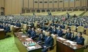 29日に行われた最高人民会議第14期第2回会議(2019年8月30日付労働新聞)