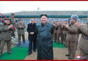 超大型ロケット砲試射を参観した金正恩氏(2019年11月29日付朝鮮中央通信より)