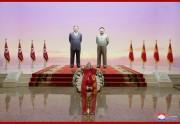 錦繍山太陽宮殿を参拝した金正恩氏(2019年12月17日付朝鮮中央通信より)