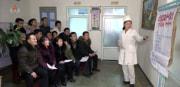1月30日、新型肺炎への対策を報じた朝鮮中央テレビ
