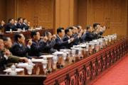 12日に行われた最高人民会議第14期第3回会議(2020年4月13日付労働新聞)