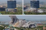 北朝鮮、南北共同連絡事務所を破壊(2020年6月17日付労働新聞)