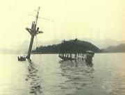 舞鶴港で沈没した「浮島丸」