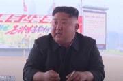 平壌総合病院の建設現場で激怒する金正恩(朝鮮中央テレビ)