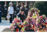 中国人民志願軍烈士陵園を訪れた金正恩氏(2020年10が22日付労働新聞より)