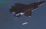 戦術核爆弾の投下試験を行うF35A戦闘機(米サンディア国立研究所提供)