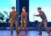 朝鮮人民軍創設71周年記念青年中央芸術宣伝隊公演(2019年2月8日付朝鮮中央通信より)