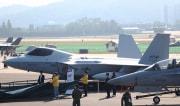 韓国の次期戦闘機KF-Xの模型(韓国空軍提供)