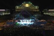 12月31日に平壌で行われた新年慶祝公演(2021年1月1日付労働新聞)
