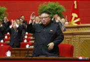 金正恩総書記/労働党第8回大会が閉幕(2021年1月13日付朝鮮中央通信)